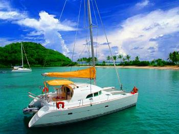 Yachtcharter Lagoon 380 (4cab) - Belize, Placencia, Placencia