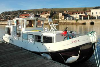 Yacht charter Pénichette Classic - 935 - France, Burgundy, Briare