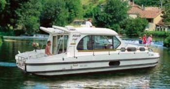 Yacht charter Nicols 1000 - Sedan - France, Burgundy, Châtillon-sur-Loire