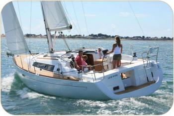 Yachtcharter Oceanis 37 (3 cabins) - England, South East, Hamble