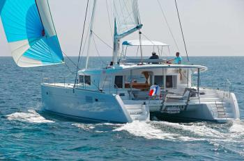 Yachtcharter Lagoon 450 (4+2cab, 4WC) - Belize, Placencia, Placencia