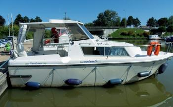 Yacht charter Fred 700 - France, Lorraine, Fontenoy-le-Château