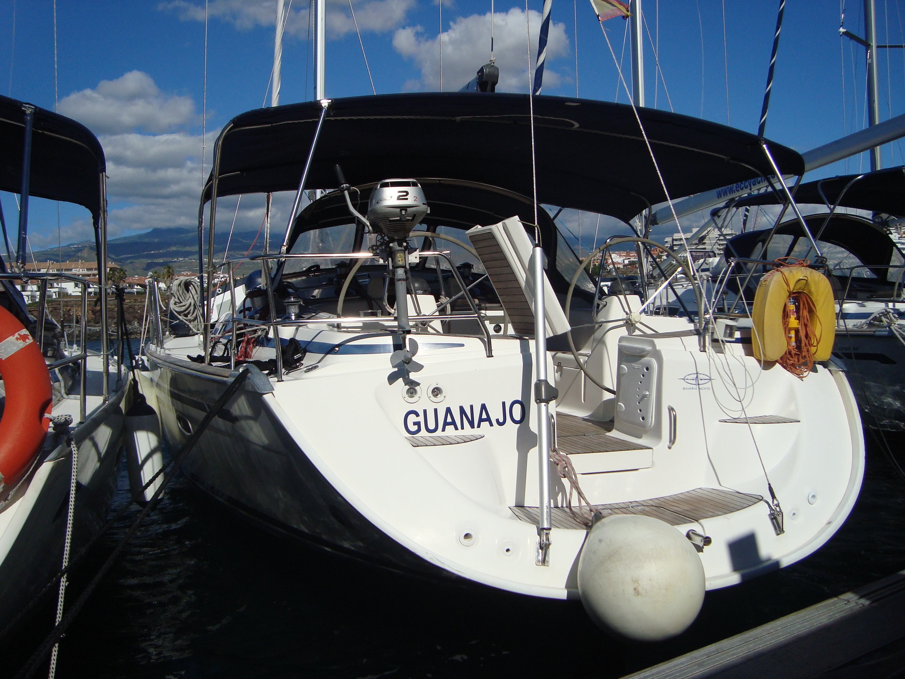 Yacht charter Bavaria 50 Cruiser - Spain, Canary Islands, Radazul, Tenerife