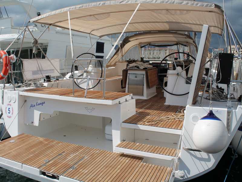 Yacht charter Dufour 560 - Italy, Sicilia, Palermo