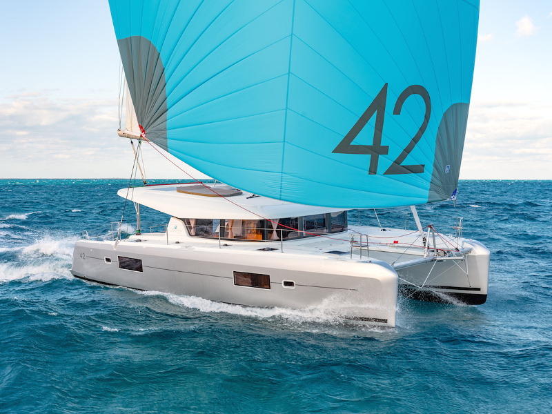 Yacht charter Lagoon 42 - France, French Riviera, Bormes-les-Mimosas
