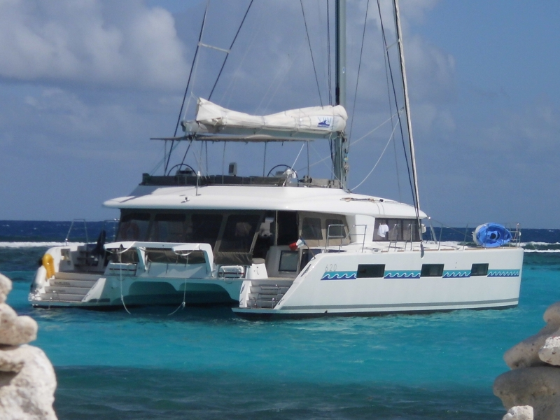 Yacht charter Cocktail Grenadines Lagoon 620 - Cabin Cruise Caribbean - Caribbean, Martinique, Le Marin