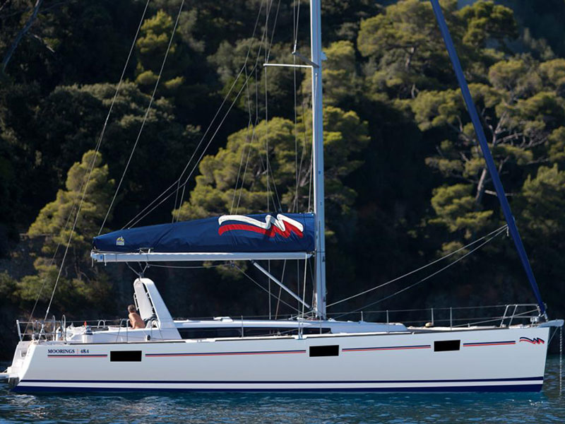 Yacht charter Moorings 48.4 - Caribbean, Grenada, St Georges