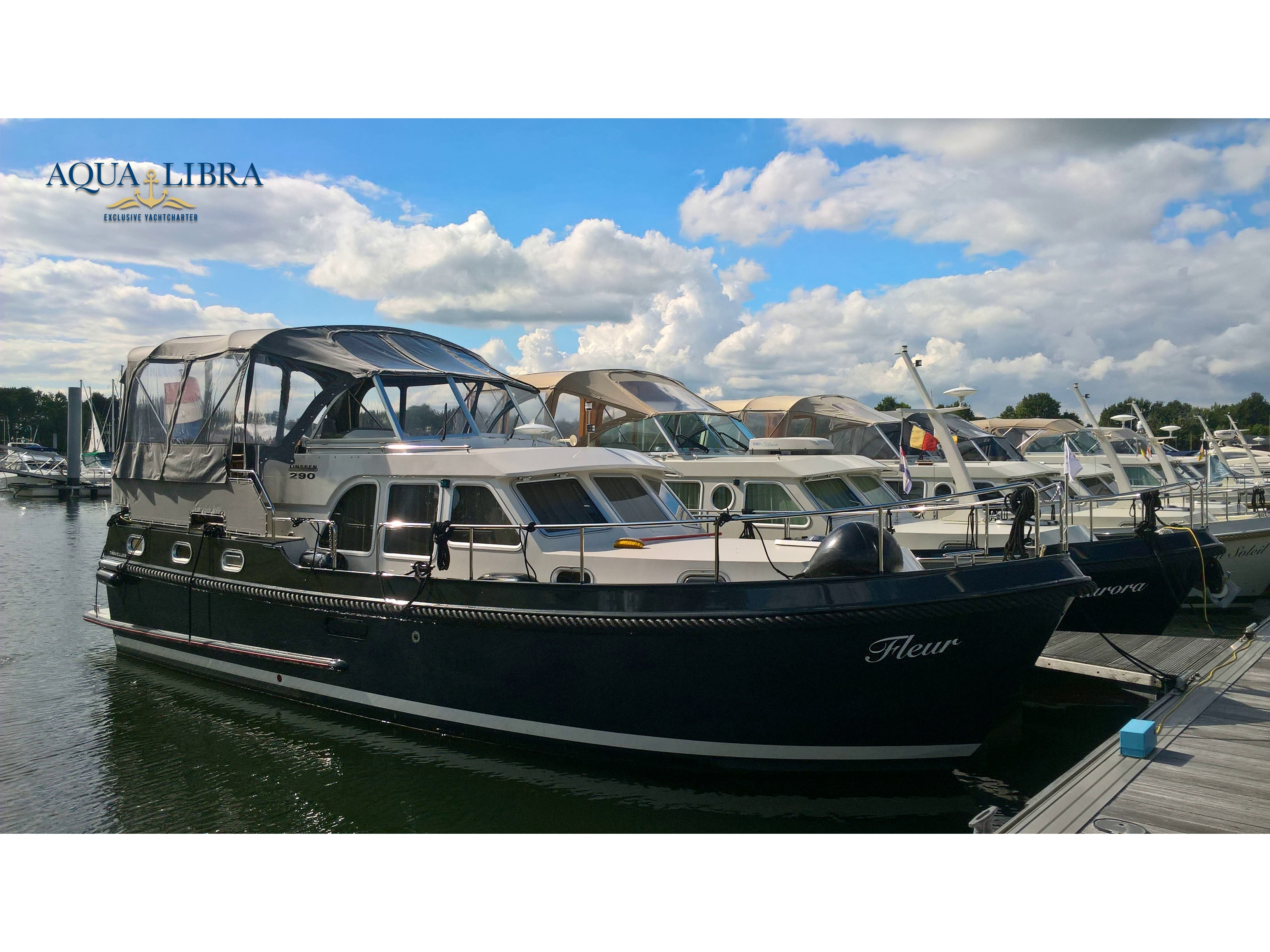 Аренда яхты Linssen GS 290 Traveller - Бельгия, Фландрия, Кинрой