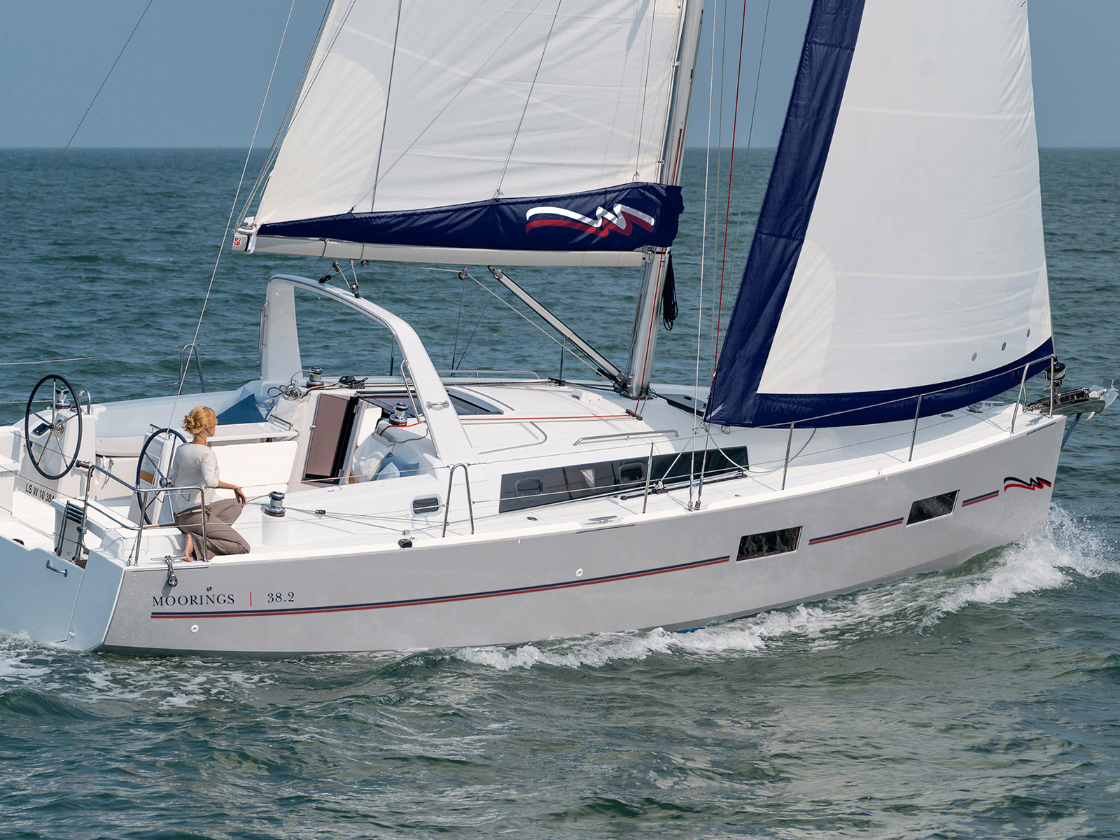 Yachtcharter Moorings 382 - Belize, Placencia, Placencia