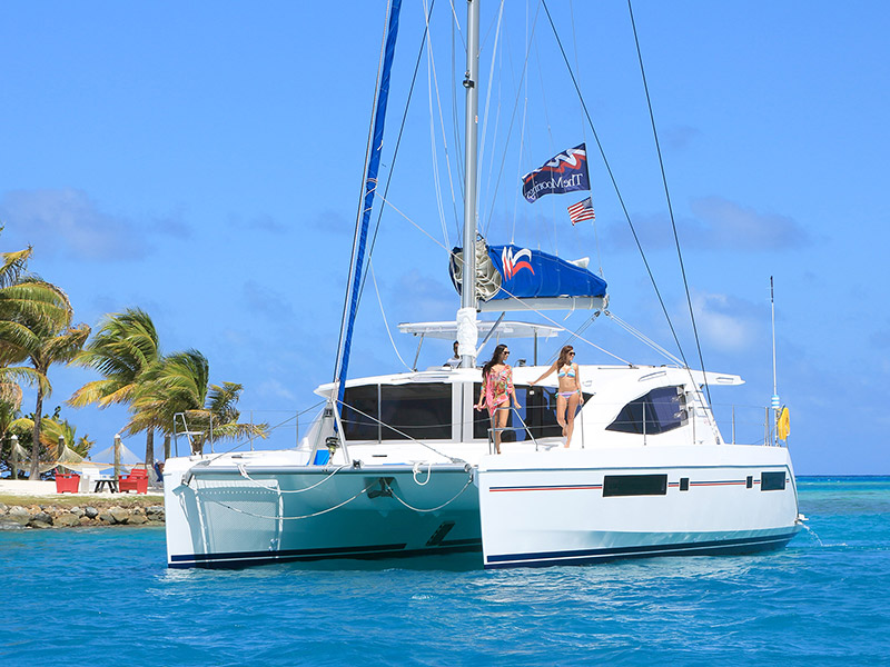 Yachtcharter Moorings 4800 - Belize, Placencia, Placencia