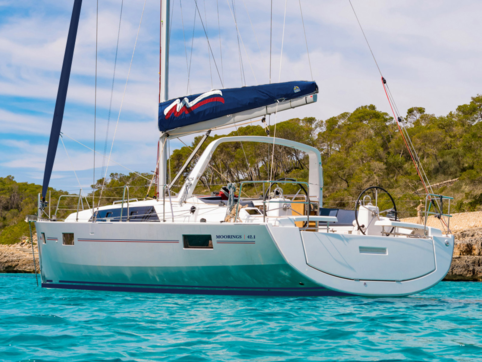 Yacht charter Moorings 42.1 - Bahamas, Abacos, Marsh Harbour