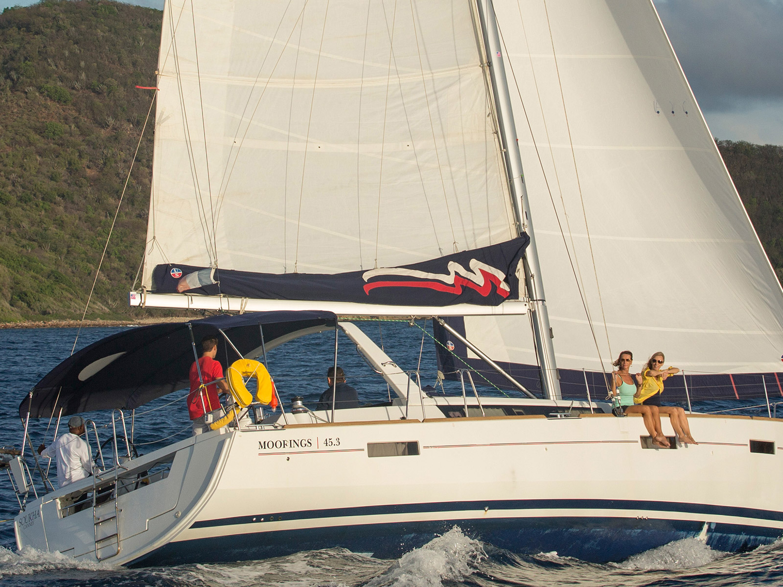 Yacht charter Moorings 453 - Caribbean, Grenada, St Georges