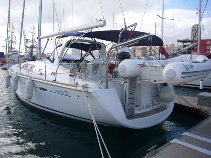 Yachtcharter Oceanis 50 Family - Spanien, Canary Islands, Radazul, Tenerife