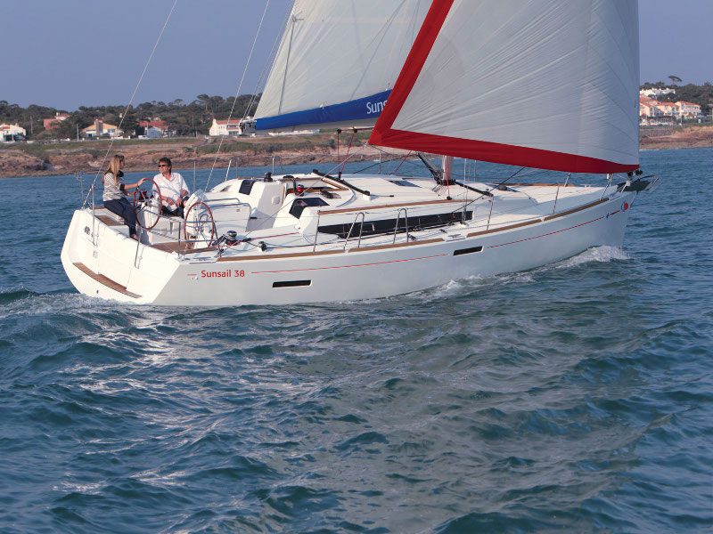 Yacht charter Sunsail 38 - Caribbean, British Virgin Islands, Road Town