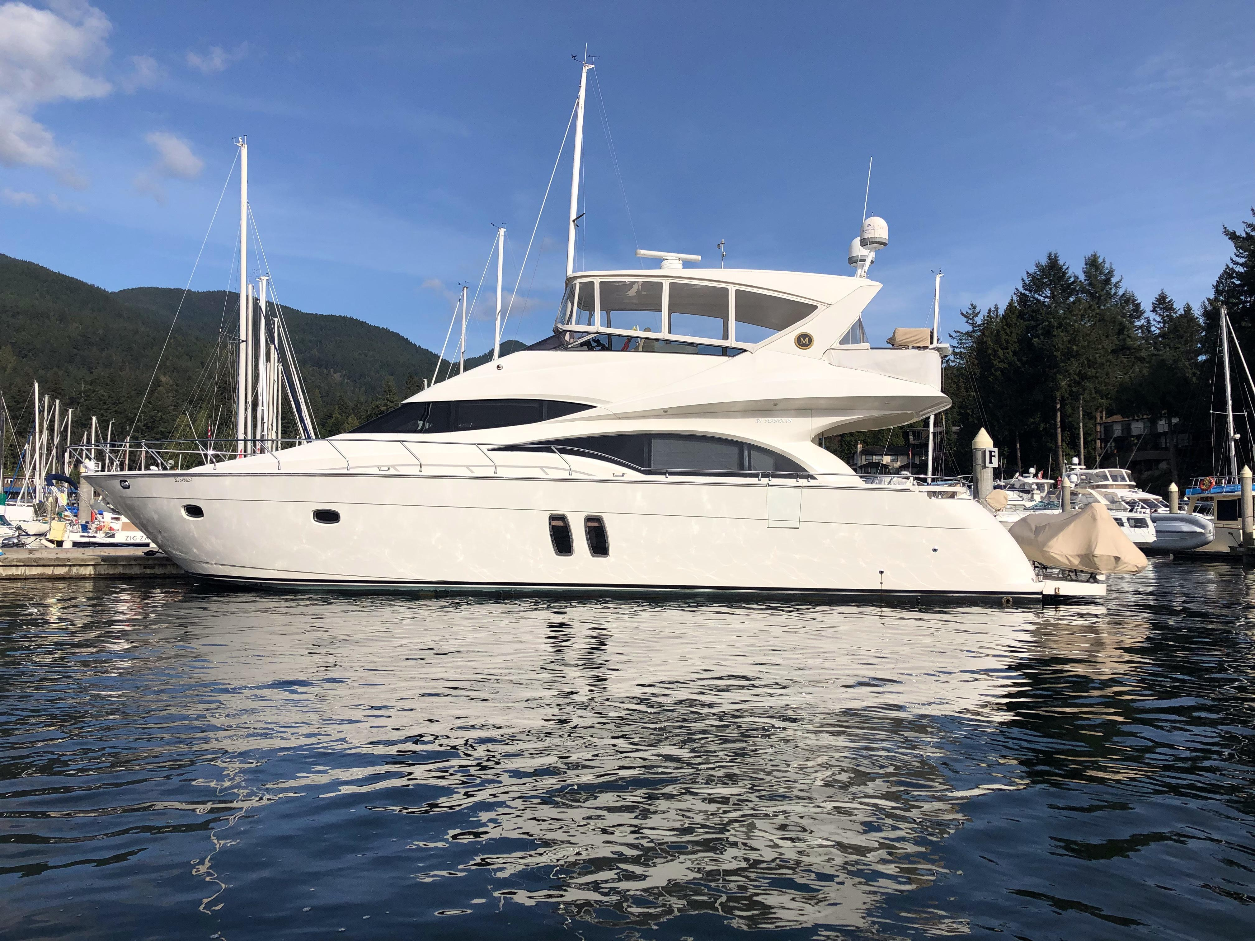 Yacht charter Marquis 59 - Canada, Vancouver, Nanaimo