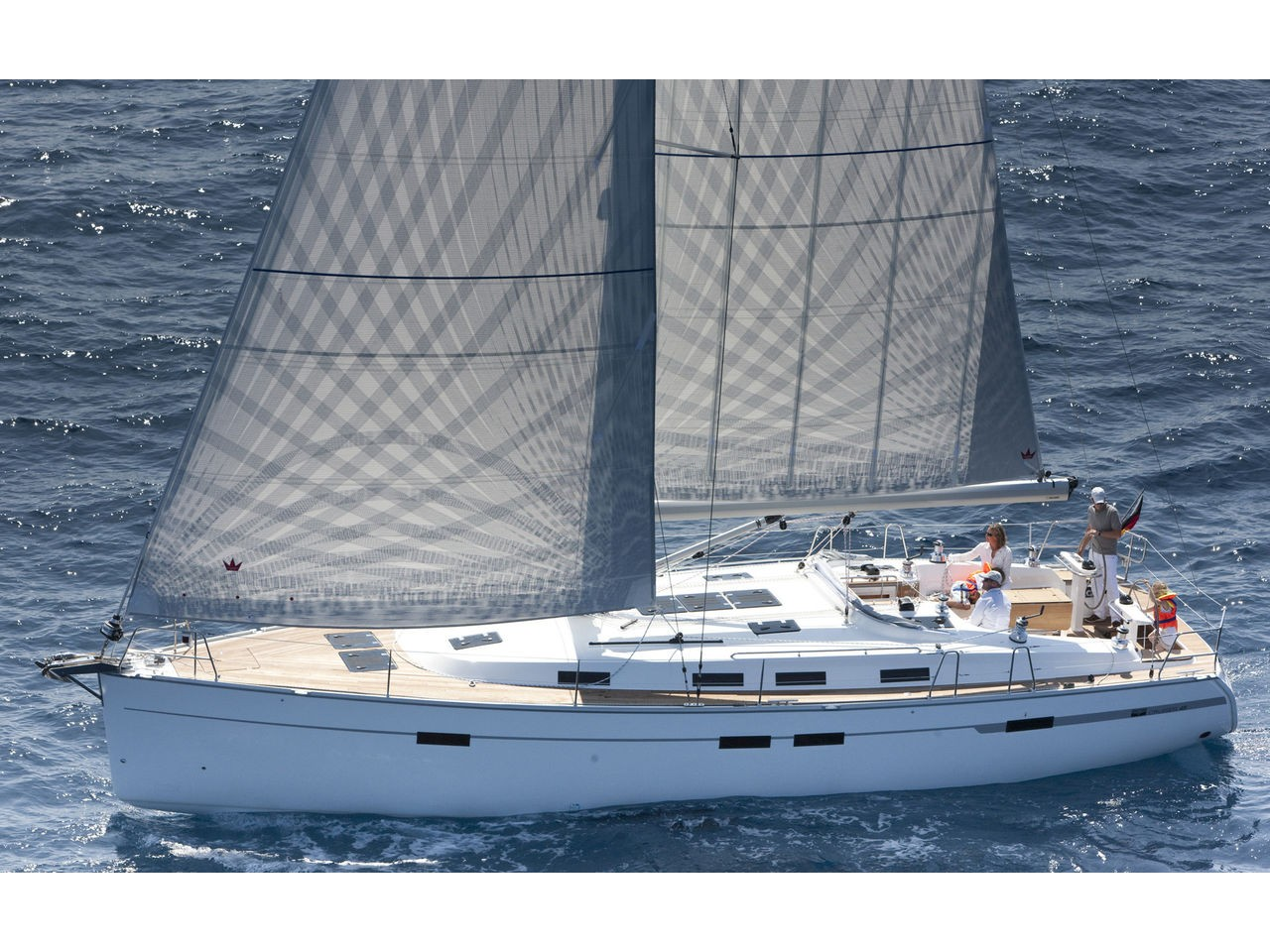 Yacht charter Bavaria 45 Cruiser - Spain, Balearic Islands, Ibiza
